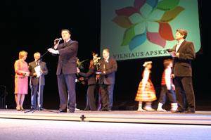 Atidarant Vilniaus apskrities vaikų kūrybos šventę