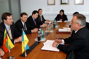 Susitikime su Ukrainos ambasadoriumi