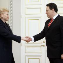 Prezidentės pritarimas skirti Vidaus reikalų ministru