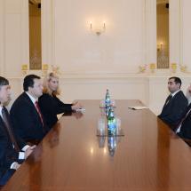 Susitikimas su Azerbaidžiano Prezidentu.