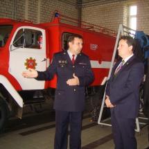 Ugniagesių gelbėtojų parengties tikrinimas