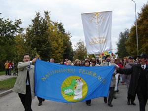 Naujininkai turi savo vėliavą